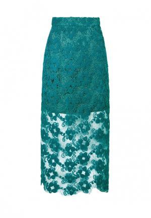 Юбка JN. Цвет: бирюзовый