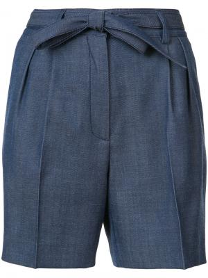 Belted shorts Gabriela Hearst. Цвет: синий