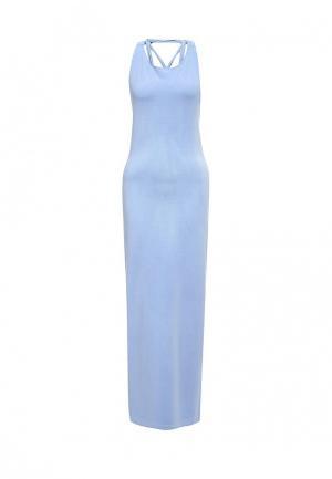 Платье Patrizia Pepe. Цвет: голубой