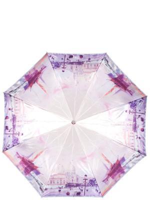 Зонт Eleganzza. Цвет: сиреневый, бежевый, фиолетовый