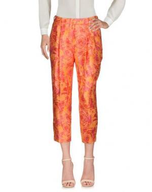 Повседневные брюки CHLOTILDE. Цвет: оранжевый