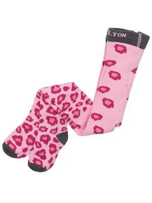 Колготки MELTON. Цвет: розовый