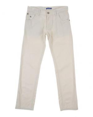 Повседневные брюки COTTON BELT. Цвет: слоновая кость