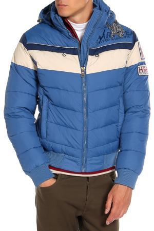Куртка HARTWEAR. Цвет: синий