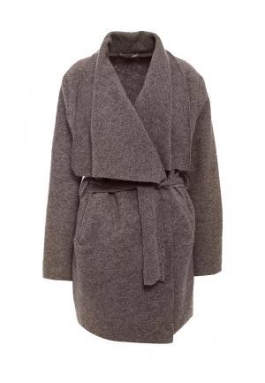 Пальто Lovini. Цвет: коричневый