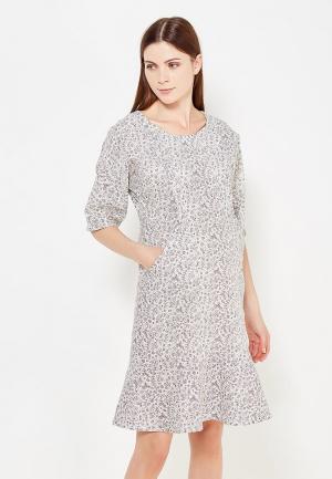 Платье MilkyMama. Цвет: черно-белый