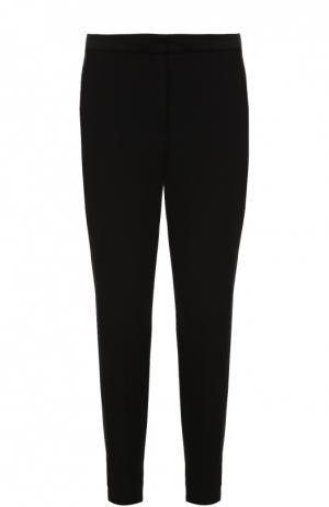 Укороченные брюки прямого кроя с лампасами Rag&Bone. Цвет: черный