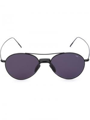 Солнцезащитные очки Eyevan7285. Цвет: чёрный