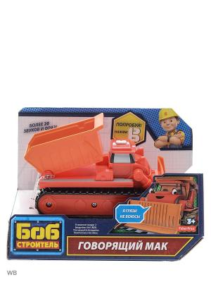 Боб-строитель Говорящие транспортные средства Mattel. Цвет: красный