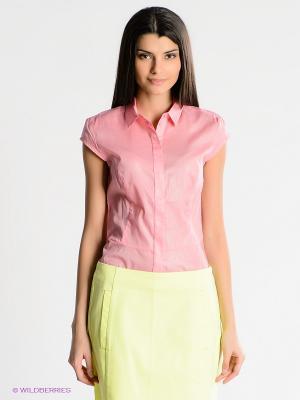 Блузка People. Цвет: розовый