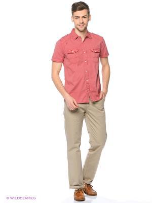 Рубашка Colin's. Цвет: светло-коралловый