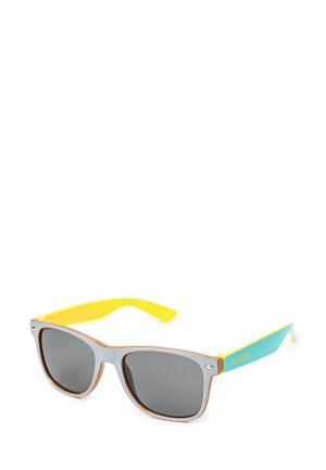 Очки солнцезащитные True Spin. Цвет: серый