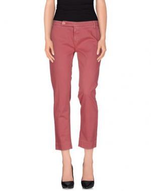 Повседневные брюки TRUE NYC.. Цвет: коралловый