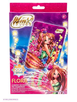 Winx Мозаика -сингл Flora Чудо-творчество. Цвет: розовый, зеленый, фиолетовый