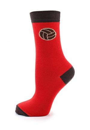 Носки Запорожец Heritage. Цвет: красный
