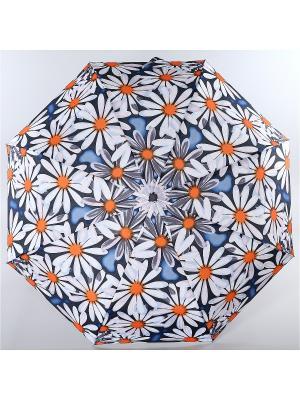 Зонт Trust. Цвет: белый, оранжевый, синий