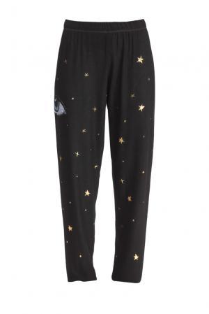Трикотажные брюки SF-153394 Lauren Moshi. Цвет: черный