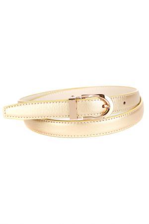 Ремень Anthoni Crown. Цвет: золотой