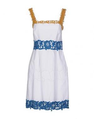 Короткое платье PHILOSOPHY di ALBERTA FERRETTI. Цвет: белый