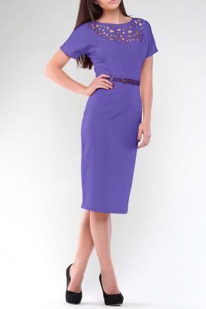 Платье MAURINI. Цвет: сиреневый