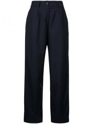 Широкие брюки Wynn Hamlyn. Цвет: синий