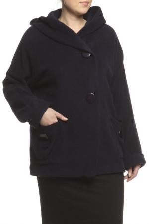 Пальто LANITA. Цвет: темно-синий