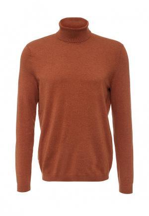 Водолазка Burton Menswear London. Цвет: коричневый