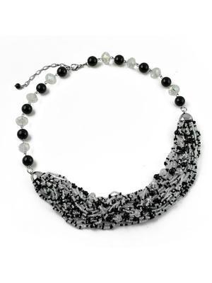 Ожерелье FOXTROT. Цвет: черный