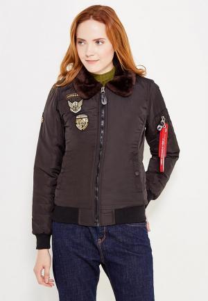 Куртка Jimmy Sanders. Цвет: черный