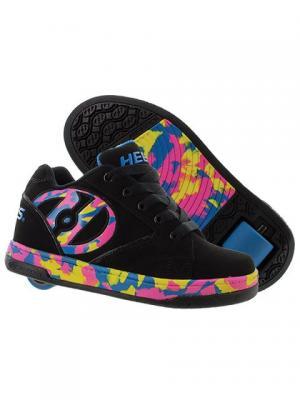 Роликовые кроссовки Heelys Propel 2.0.770810(13C). Цвет: черный, розовый