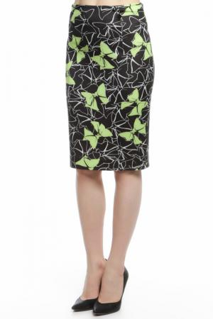 Юбка Maria Grazia Severi. Цвет: черный, зеленый