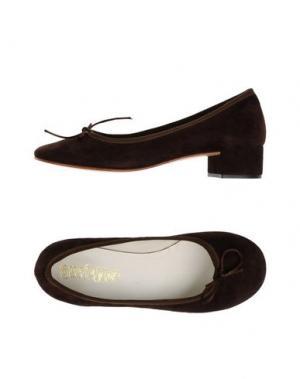 Туфли SUZIEMAS. Цвет: темно-коричневый