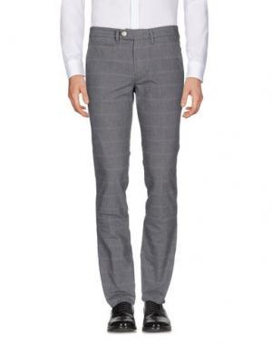 Повседневные брюки D-21. Цвет: серый