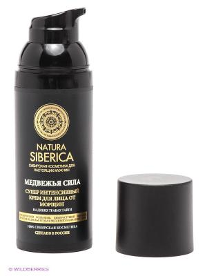 Крем для лица от морщин Медвежья сила Natura Siberica. Цвет: черный