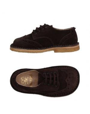 Обувь на шнурках EQUERRY. Цвет: темно-коричневый