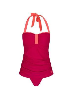 Слитный купальник REGATTA. Цвет: бордовый