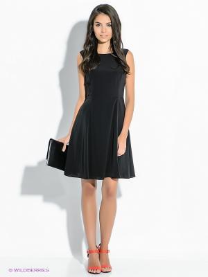 Платье Tommy Hilfiger. Цвет: черный