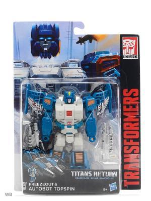 Трансформеры дженерэйшнс: войны титанов дэлюкс Transformers. Цвет: лазурный, белый