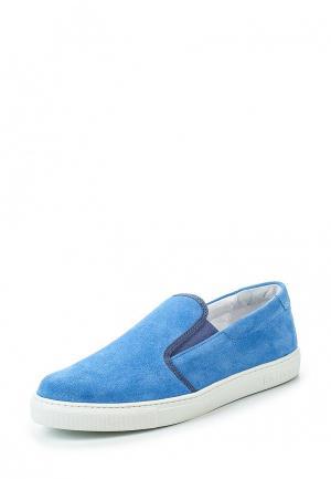 Слипоны Jog Dog. Цвет: голубой