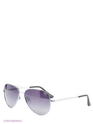 Солнцезащитные очки Legna. Цвет: серебристый