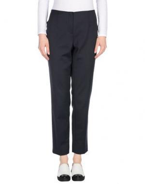 Повседневные брюки LES COPAINS. Цвет: стальной серый