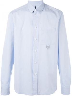 Классическая рубашка Oamc. Цвет: синий
