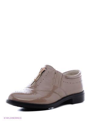 Туфли San Marko. Цвет: светло-коричневый