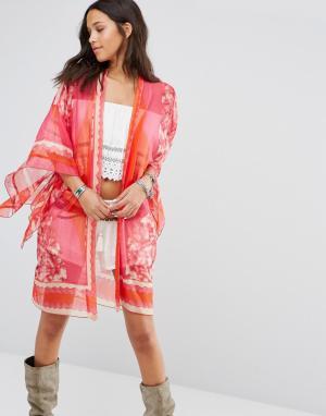 Anna Sui Эксклюзивное кимоно. Цвет: розовый