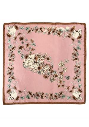 Платок Модные истории. Цвет: розовый (розовый)