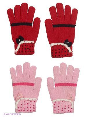 Перчатки FOMAS. Цвет: красный, бледно-розовый, молочный, розовый