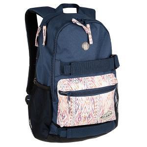 Рюкзак спортивный  Crew Cosmic Billabong. Цвет: бежевый,синий