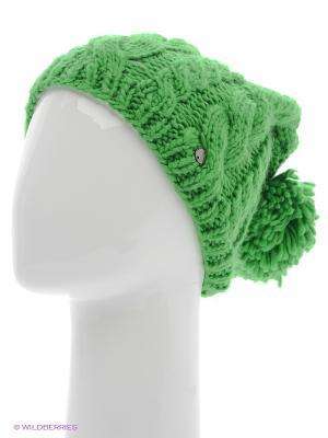 Шапка CMP. Цвет: зеленый