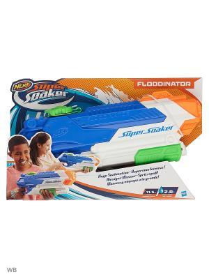 Нерф супер сокер Флудинатор (бластер) Hasbro. Цвет: зеленый