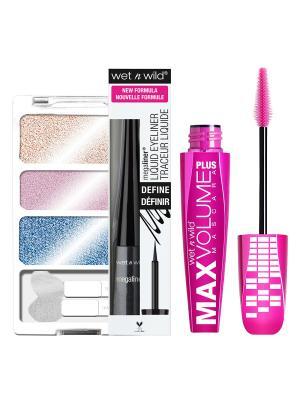 Подарочный набор WnW 122 Wet n Wild. Цвет: розовый, голубой
